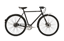 Creme Ristretto Cityfiets Heren 8-speed, dynamo zwart